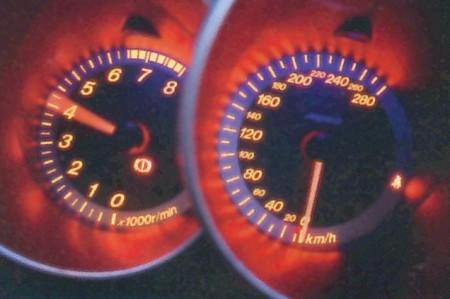 Mazda 3 MPS instruments